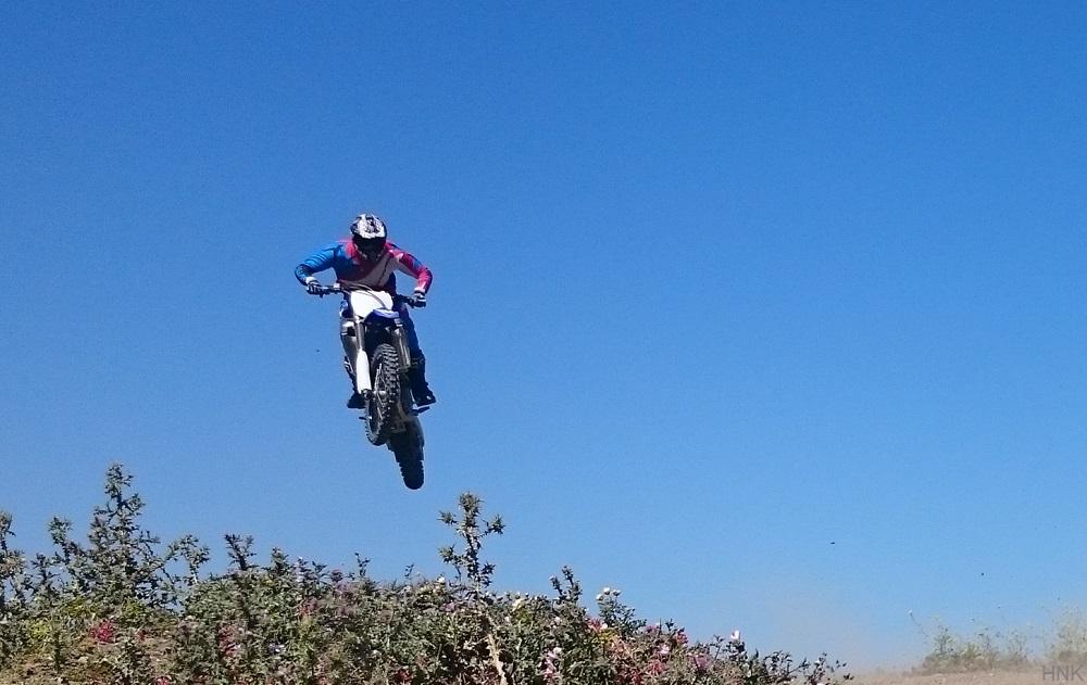Circuito de Motocross en Tarifa con vistas al mar