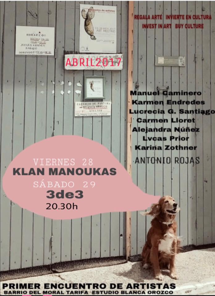 Concierto de Klan Manoukas