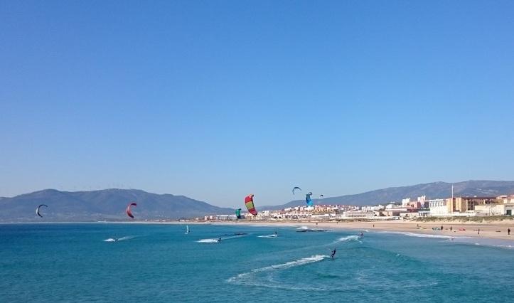 Kitesurfing en uno de los mejores spot de Europa