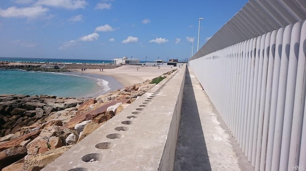 La nueva Mirador Playa Chica