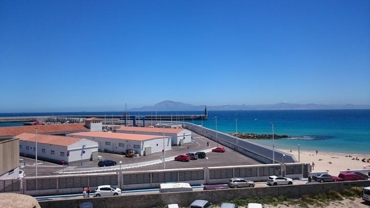 Puerto de Tarifa y Playa Chica
