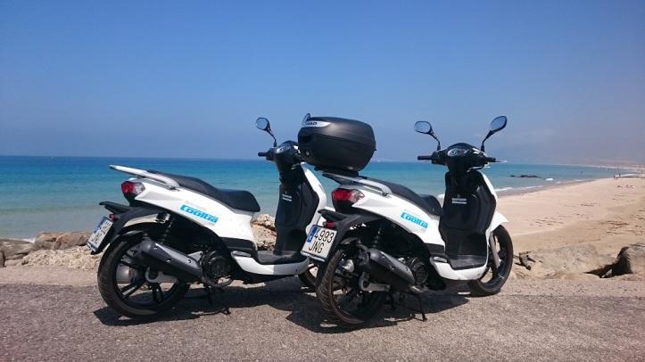 Alquiler de scooter en Tarifa