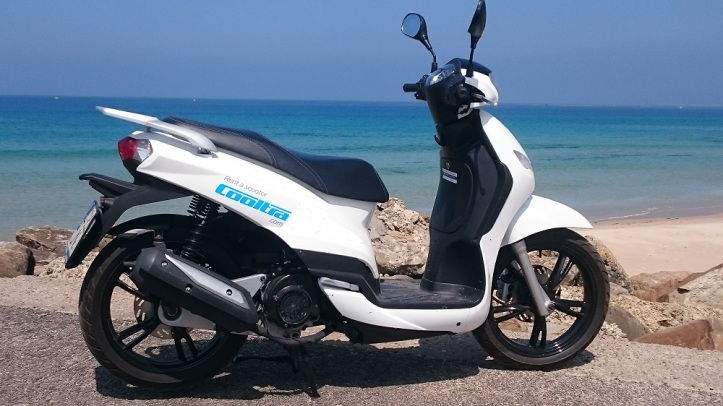 Cooltra Scooter Tarifa
