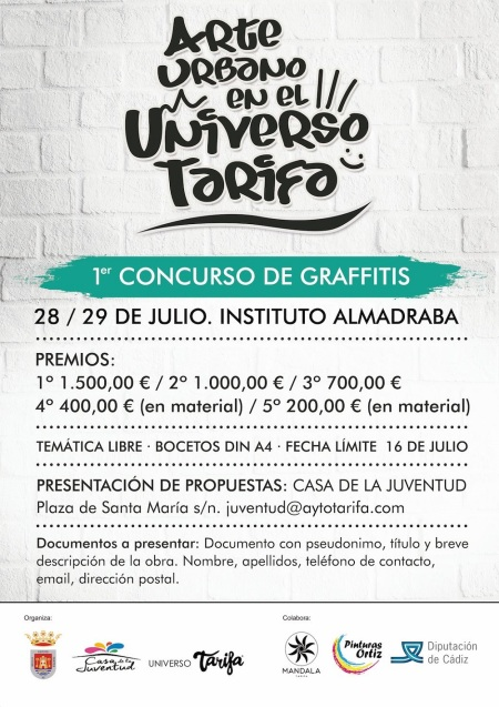 Graffiti en el Paseo Maritimo de Tarifa