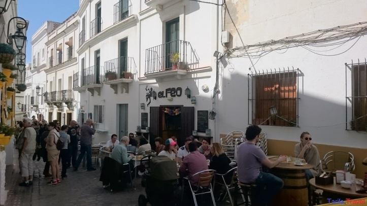 Calle Guzmán el Bueno, una zona turística gastronómica