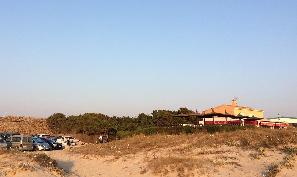 A pie de la Playa