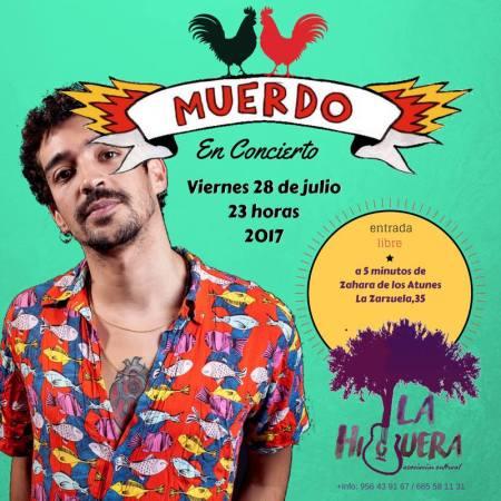 Concierto de MUERDO en La Higuera en Zarzuela