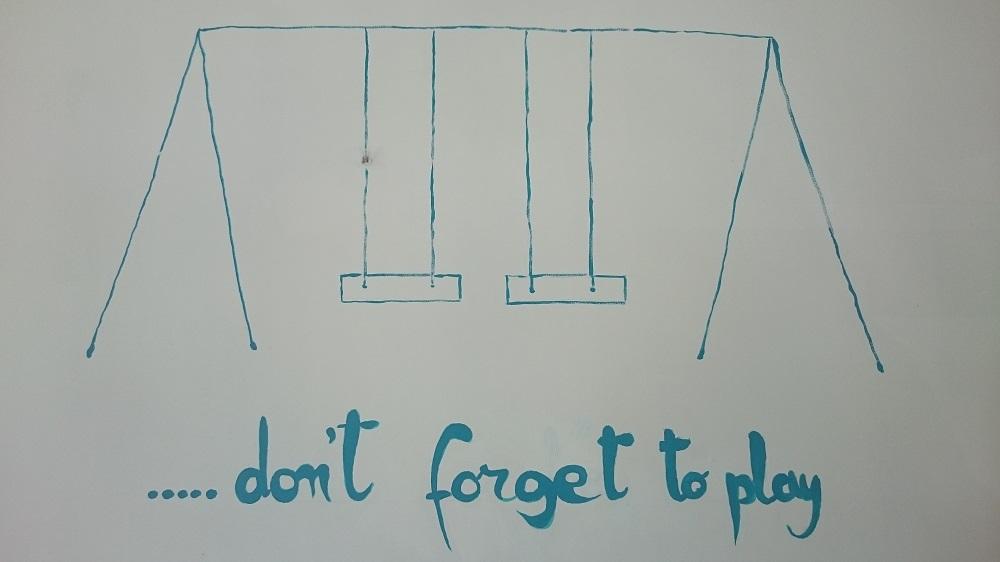 No se olvide de jugar