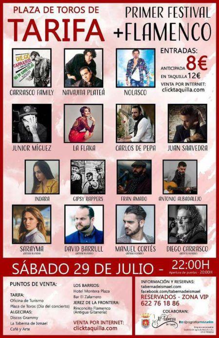 I Festival de Flamenco en Plaza de Toros de Tarifa