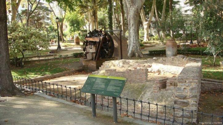 Parque de María Cristina en el centro de la cuidad