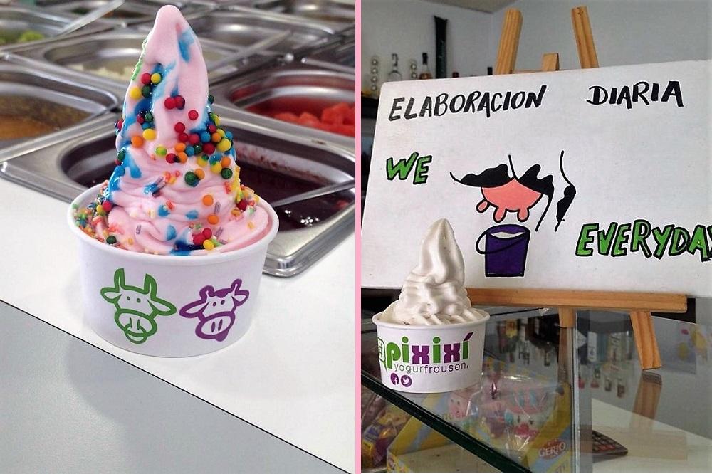 Pixixi helados en Zahara de Los Atunes