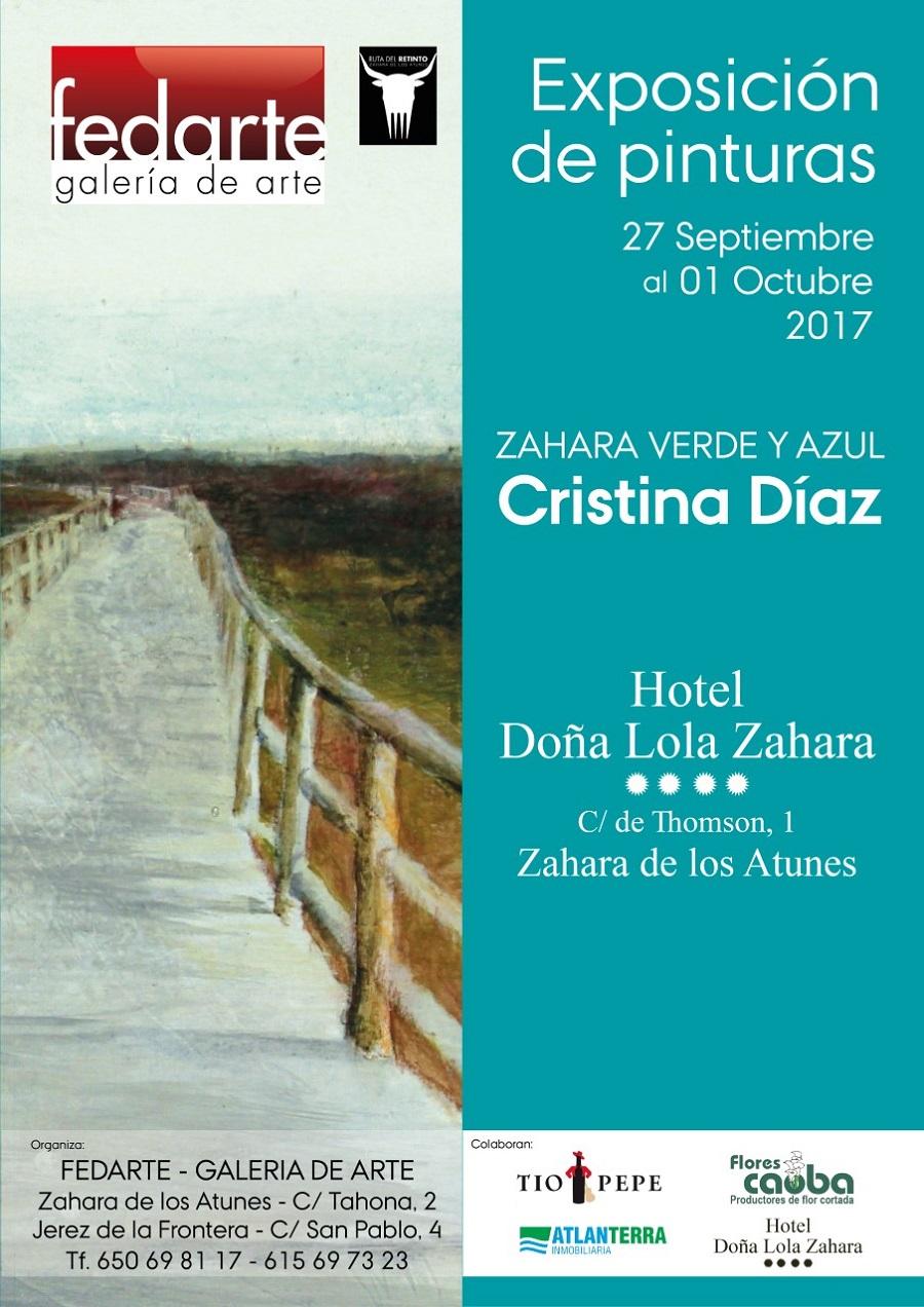 Exposición de Fedarte en Hotel Doña Lola en Zahara de los Atunes
