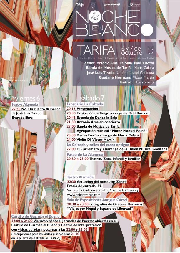 Noche en Blanco 2017 en Tarifa