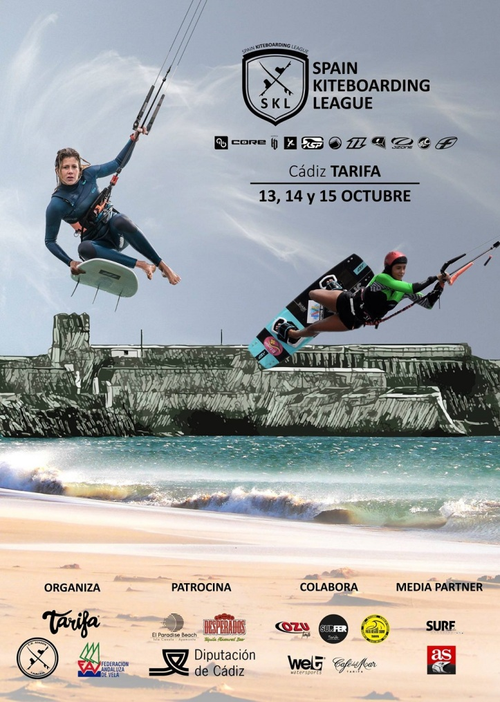 Spain Kiteboarding League en Tarifa 2017