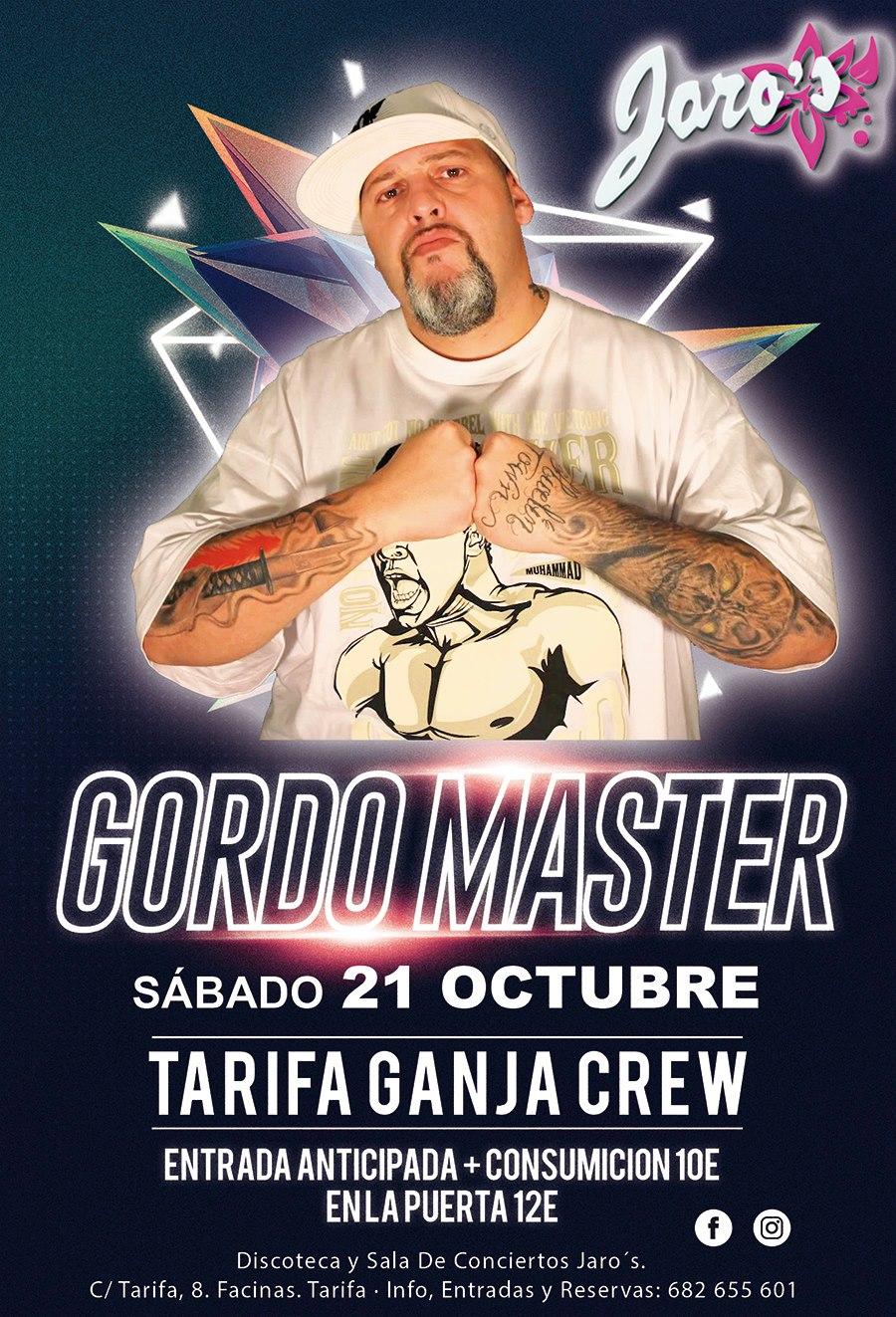Gordo Master en discoteca Jaro^s en Facinas