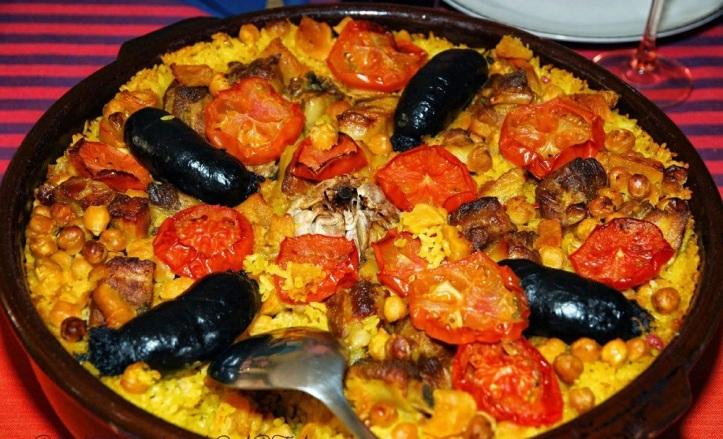 Paella Española El Caballo