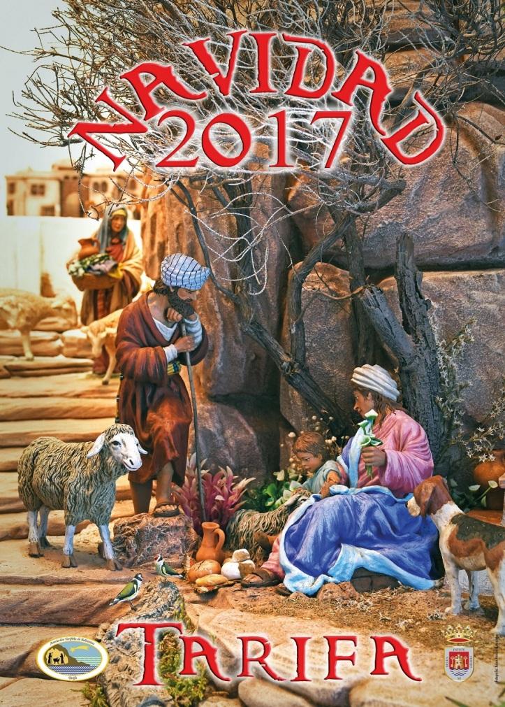 Cartel de la Navidad 2017 en Tarifa