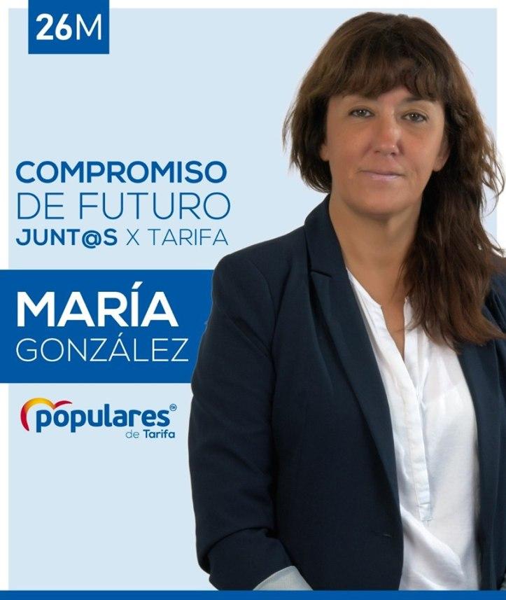 María González PP Tarifa