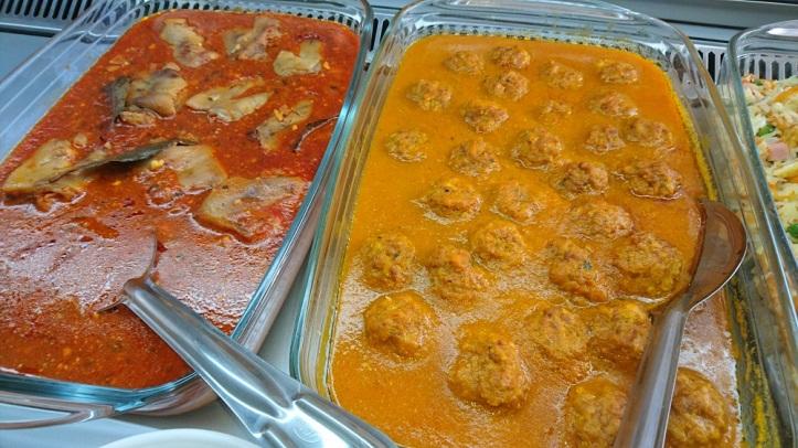 Carnes con salsa