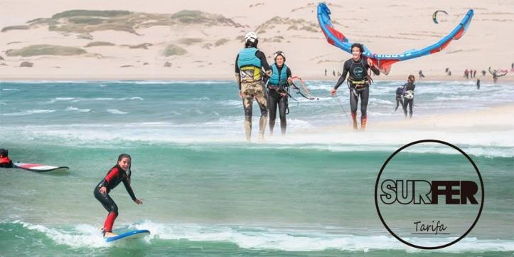 Clases de Kitesurf con Surfer Tarifa