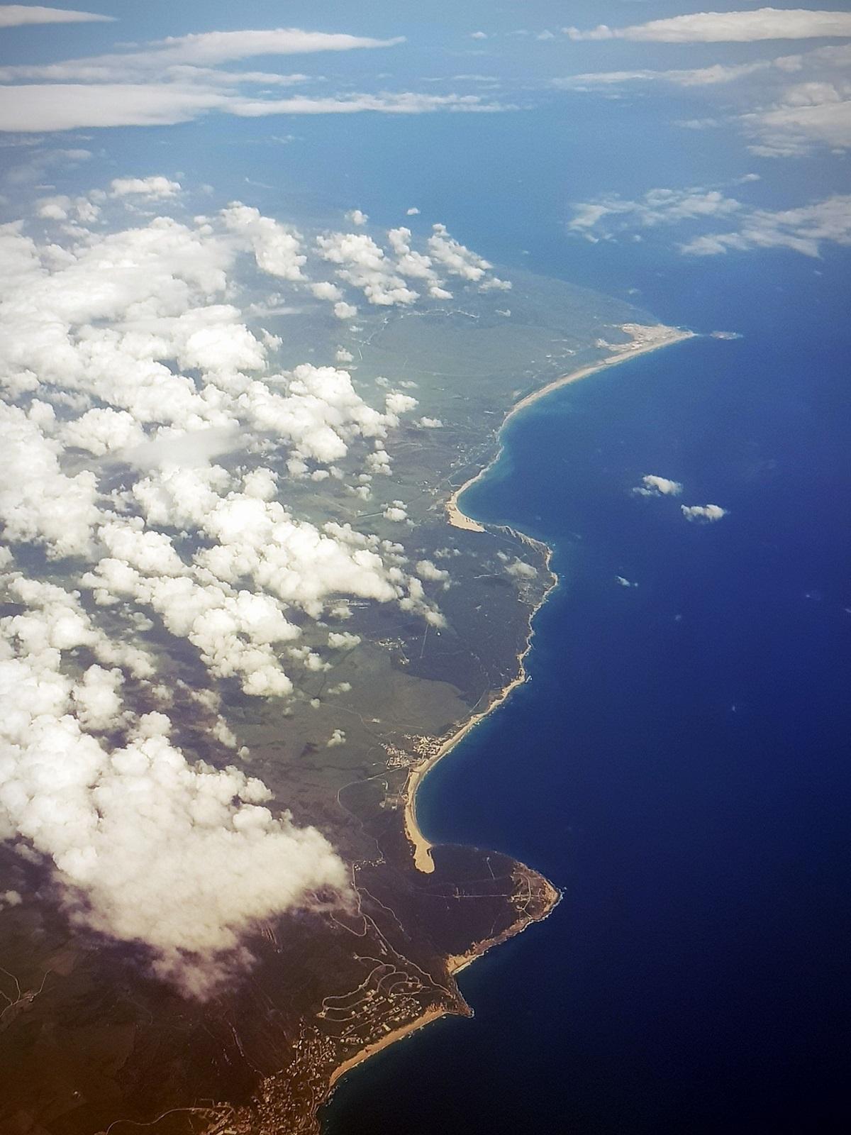 Foto Aérea Costa de Tarifa, Valdevaqueros, Bolonia y Atlanterra