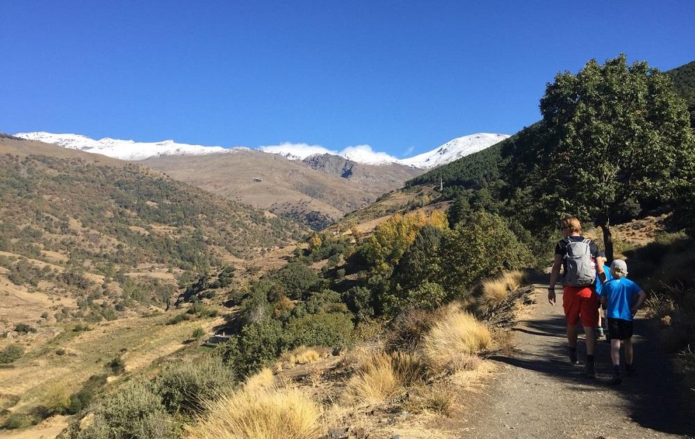 Ruta Sulayr Sierra Nevada España
