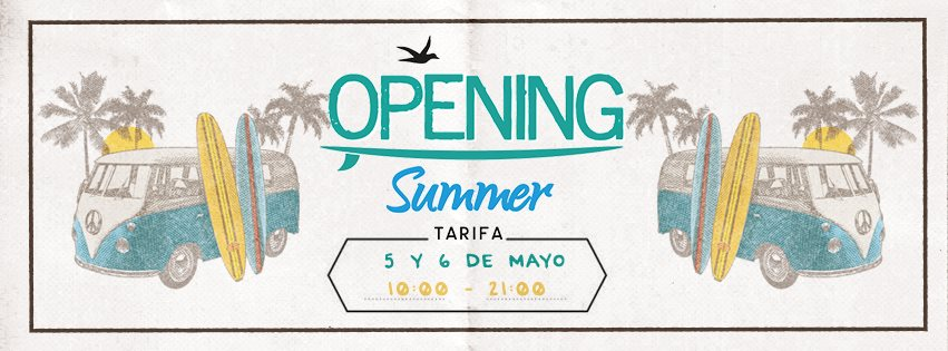 Opening Summer Tarifa