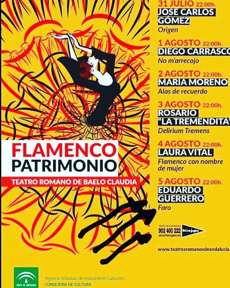 Flamenco en Baelo Claudia desde el 31 de julio al 5 de agosto