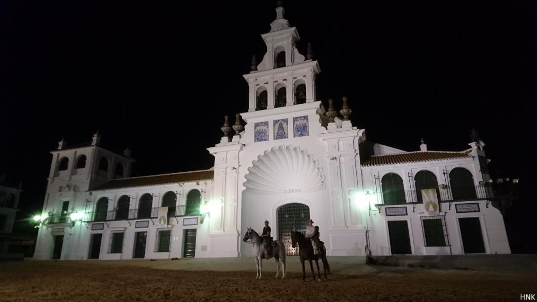 La noche en El Rocío