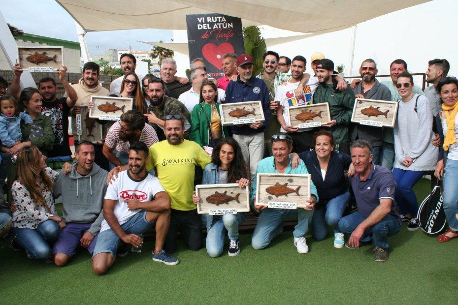 Los ganadores de la VI Ruta del Atún de Tarifa