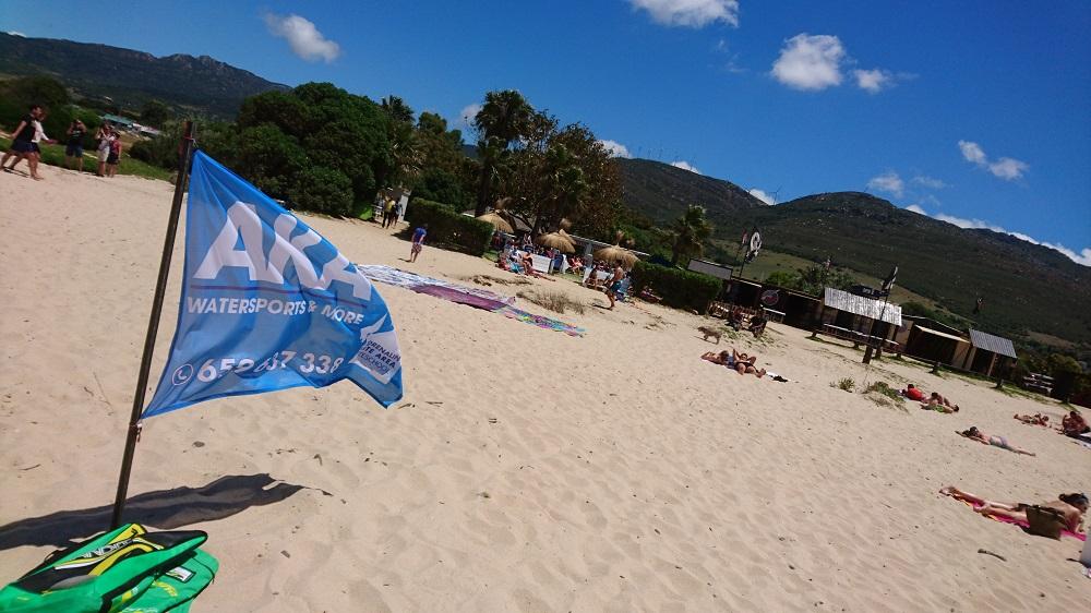 AKA en la playa de Valdevaqueros