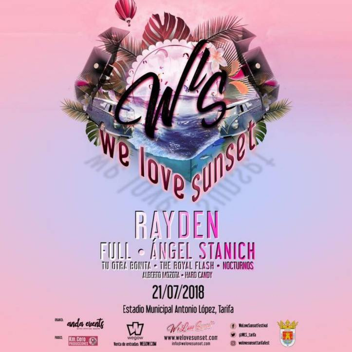 We Love Sunset Festival en Tarifa