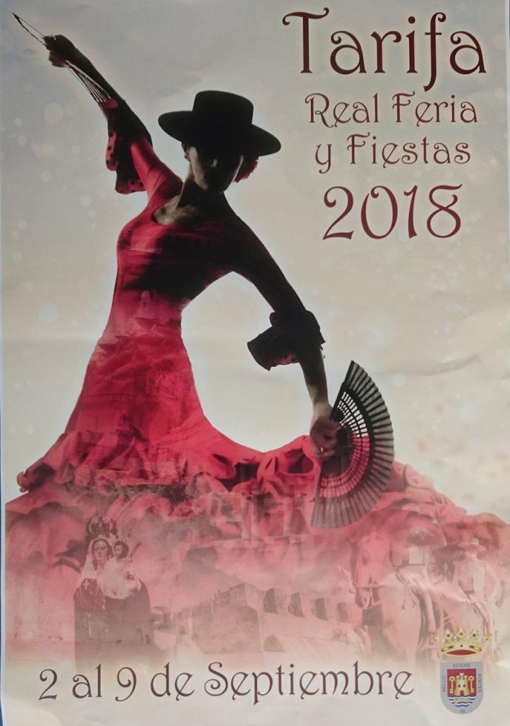 Cartel Feria Real de Tarifa 2018
