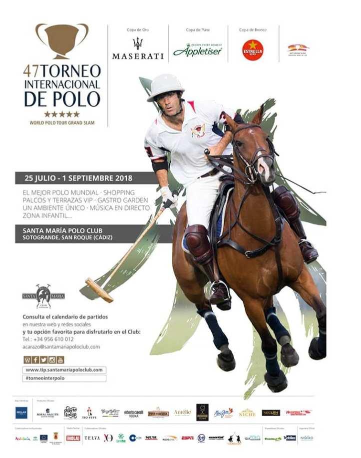 Torneo de Polo durante el mes de agosto en Sotogrande