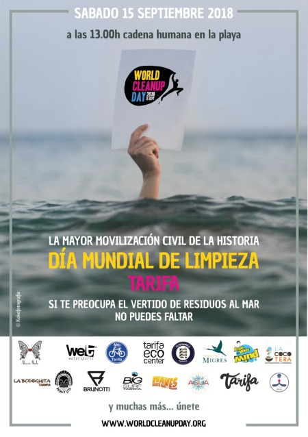 World clean up day Tarifa 15 September 2018