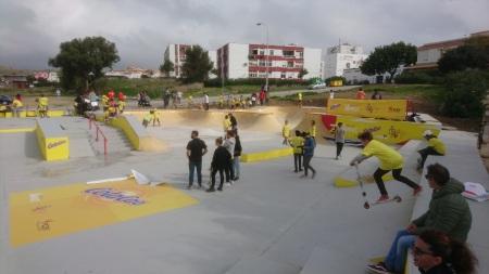 Cola Cao Skatepark en Tarifa