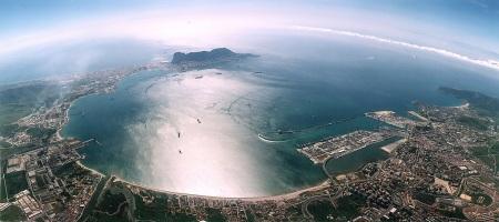 Campo de Gibraltar en el sur de España