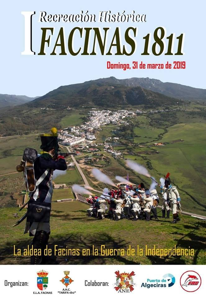 la recreación histórica napoleónica de Tarifa en Facinas