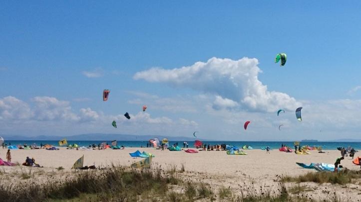 Tarifa es el destino numero 1 de kitesurfing