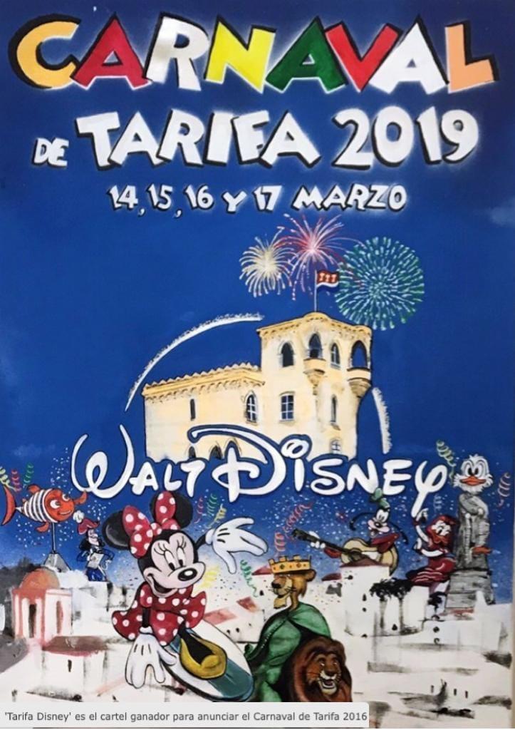 Tarifa Walt Disney Carnaval 2019