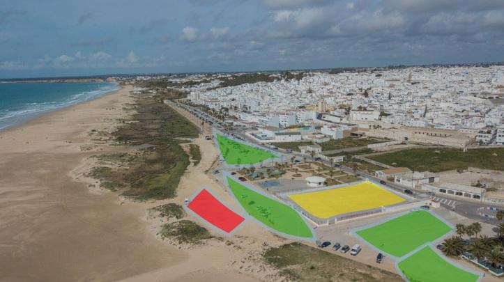 Localización concentración motera 2019 Conil de la Frontera