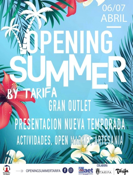De compras en Tarifa Opening Summer 6 y 7 de Abril 2019
