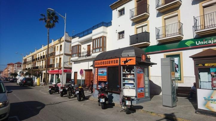 Kiosko El Semaforo en Avenida Andalucia, Tarifa