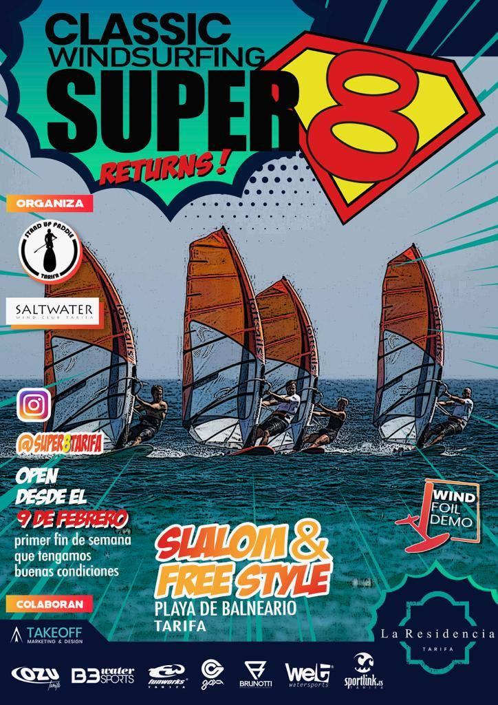 Super 8 Tarifa Classic Windsurfing