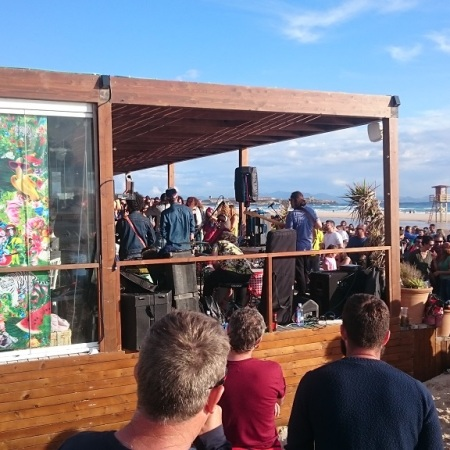 Demente Beach Club Playa de Los Lances Tarifa