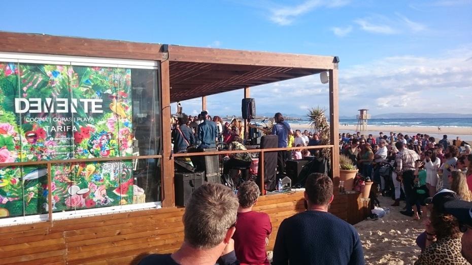 Demente Beach Club Playa de Los Lances Tarifa