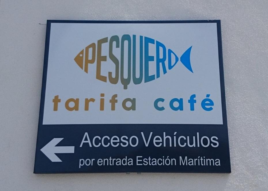 Acceso vehículos por entrada estación marítima