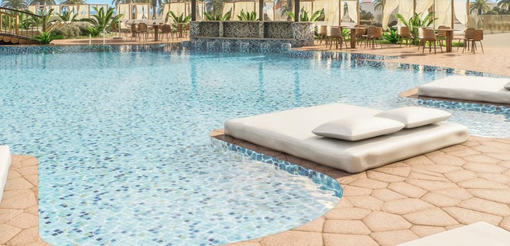 Estilo laguna piscina Hotel Sensimar Zahara de los Atunes