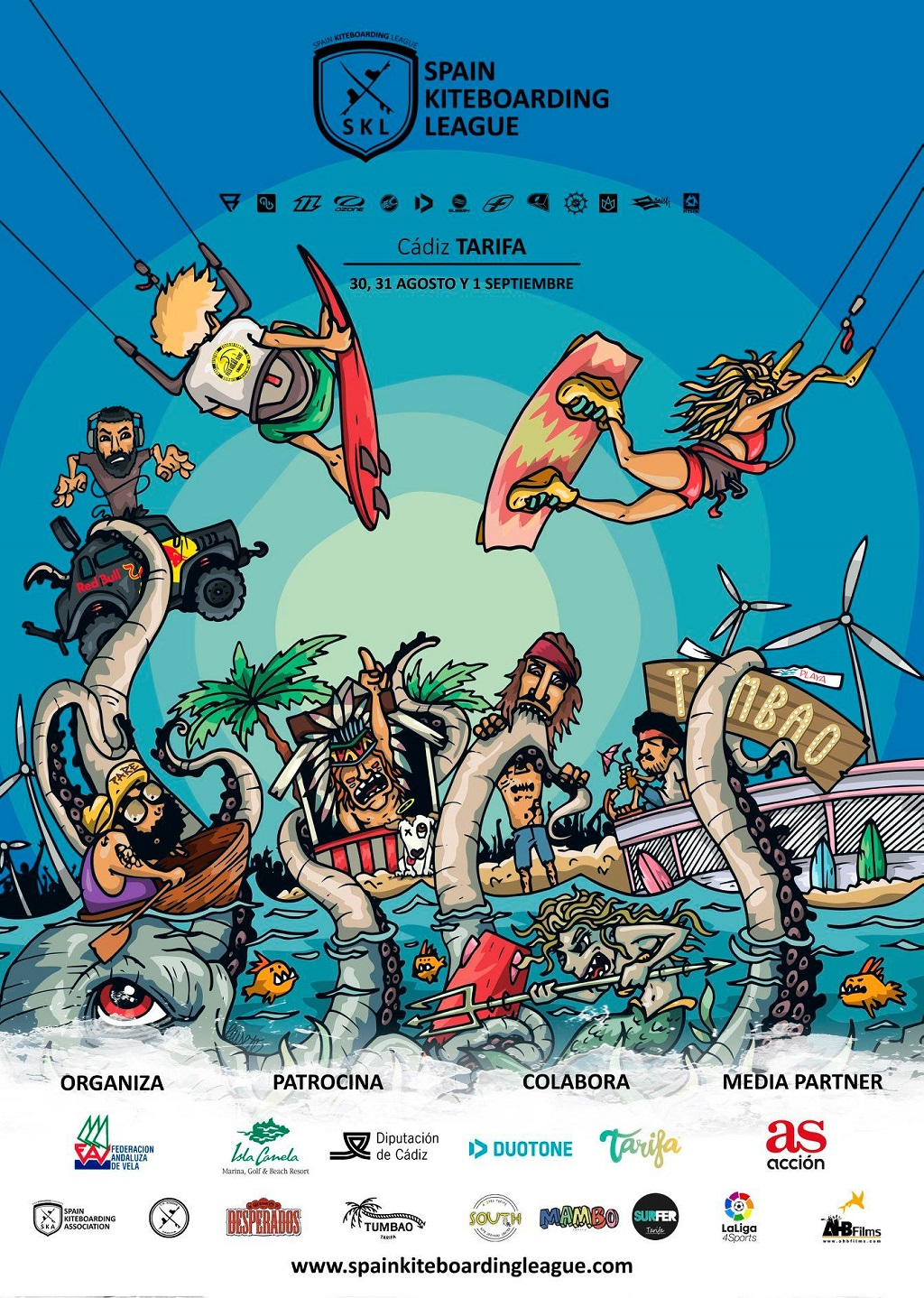 Spain Kiteboarding League Tarifa 2019