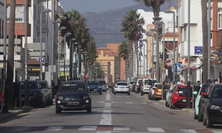 Calle de compras Batalla del Salado Tarifa